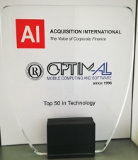OPTIM-AL in Top 50 in Technology in Europe